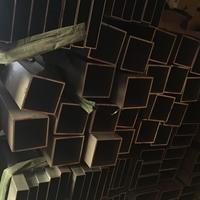 铜陵5456矩形铝方管性能、楼梯扶手铝方管