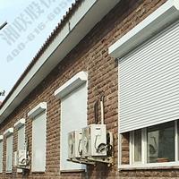 铝合金建筑遮阳卷帘窗,铝合金卷帘窗