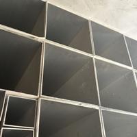 黄山5056矩形铝方管性能、楼梯扶手铝方管