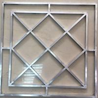 铝合金窗花-型材烧焊铝窗花-仿古铝花格