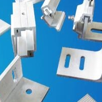 铝合金挂件厂家铝角码耳型铝挂件发货快速