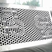 铝雕刻雕花-铝方通