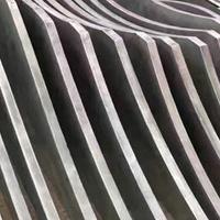 供应室外墙身弯曲铝方通_波浪形铝方通