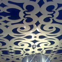 艺术镂空铝单板 大厦室内装饰镂空铝单板