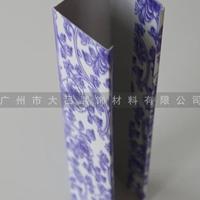 外墙铝方通型材木纹铝方通生产安装
