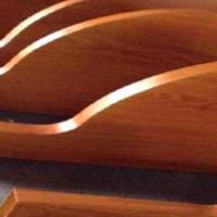 写字楼弧形铝方通-波浪铝方通-造型天花