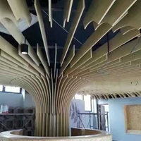 铝方通的方法 木纹U型铝方通厂家直销