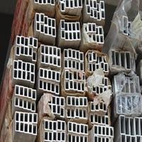 遂宁铝合金材铝方管价格 楼梯扶手专用