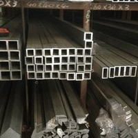 肥城装饰铝型材15015012工业铝方管现货