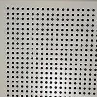 铝扣板厂家 供应600对角冲孔铝扣板