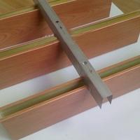 铝方通天花装饰 广州木纹铝方通厂家
