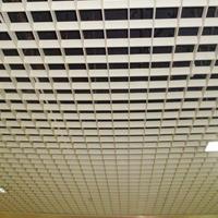 广州铝格栅厂 木纹铝格栅  木纹方形铝格栅