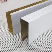 装饰效果美、价格成本低的镀锌钢方通。