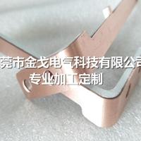 铜铝复合板折弯冲压加工生产