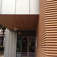 外墙木纹铝方通,可以直接定做,快速发货