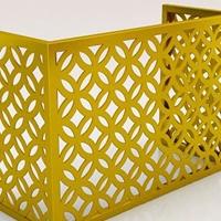 定制铝合金空调罩 折叠式空调罩直销