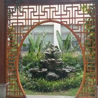 門頭雕刻鋁天花_雕花鋁窗花_鏤空雕花鋁單板