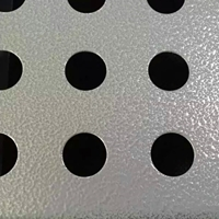 广汽传祺4s店外墙银灰色装饰专用拉网板
