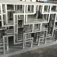 候機室專用金屬木紋鋁窗花-廠家木紋
