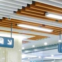 木纹U型铝方通-弧形木纹铝方通
