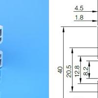 工业铝型材品种齐全4040直角铝型材启域直销