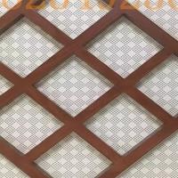 焊接铝管-2020常规木纹铝窗花厂家