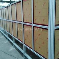 铝型材流水线 围栏框架
