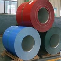 氟碳彩涂铝卷 彩涂合金铝卷生产