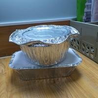 厂家快餐店外卖米饭打包铝箔盒批发