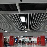 80120mm墙面铝方通施工节点图_广州德普龙