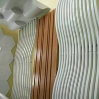 上海展厅天花吊顶定制异形铝方通