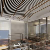 餐厅各种规格装饰铝合金铝方通 U型铝方通