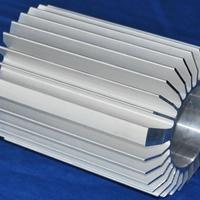 精加工挤压开模定做电机壳铝型材
