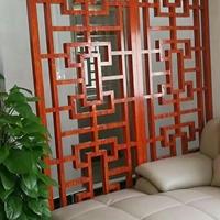 铝方管隔断屏风 金属装饰材料