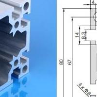 流水线国标8080铝型材输送设备主题架构
