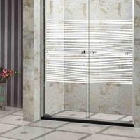 铝合金隔断一字型铝合金淋浴房隔断淋浴屏