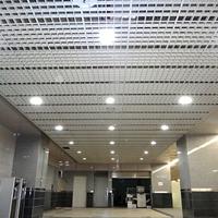 木纹铝格栅批发|铝格栅颜色|铝格栅图片