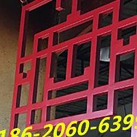 寺廟鋁窗花-木紋鋁窗花-仿古鋁掛落