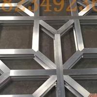 仿木烧焊拼接铝窗花 仿古铝花格