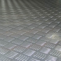 防滑板防滑铝板五条筋防滑铝板