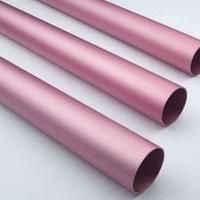6063彩色氧化鋁管 加工噴砂硬質氧化鋁管