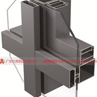 廣東興發鋁業廠家直銷明框玻璃幕墻鋁型材