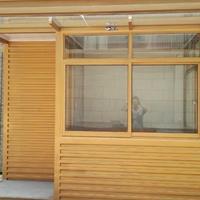新型学校铝塑板岗亭的制作材料