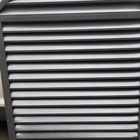 厂家批发铝合金异性防水百叶