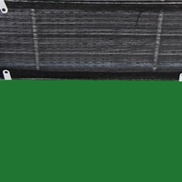 厂家批发铝合金门铰式回风带防尘尼龙网