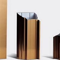 香槟电泳铝型材知名品牌 佳美铝业