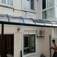 别墅遮阳棚铝合金露天加厚PC耐力板雨棚