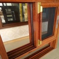 厂家直销2017年铝合金百叶窗,窗架