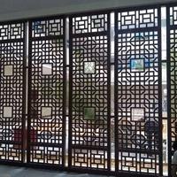 铝方管装饰栅栏 隔断护栏装饰材料