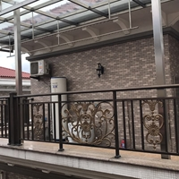 小区楼房铝合金护栏